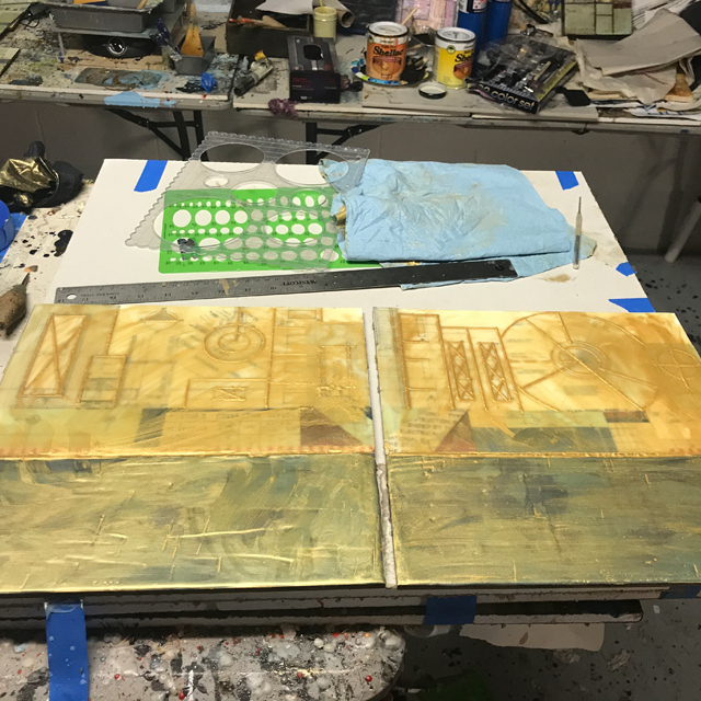 The Heather Davis Encaustic Art Process