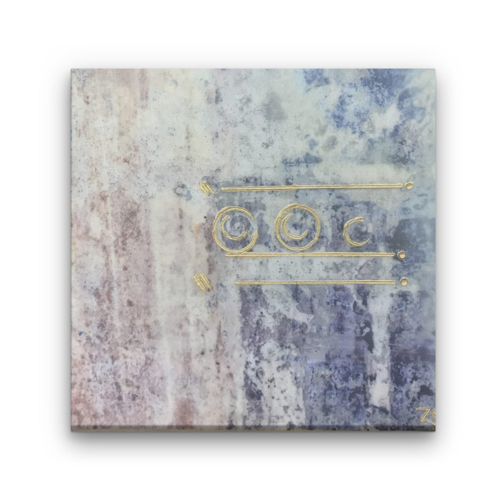 Pompeii XIV - Photo Encaustic Art