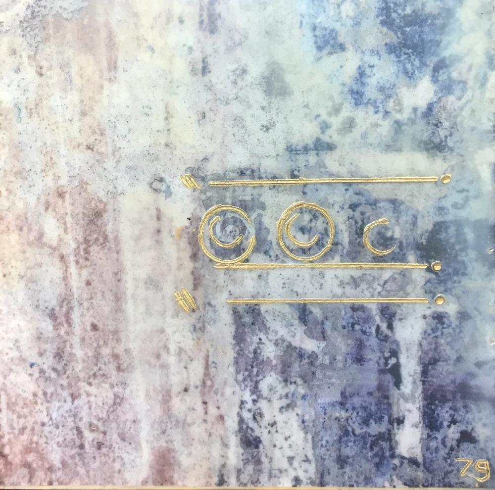 Pompeii XIV - Photo Encaustic Art