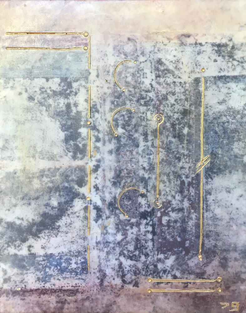 Pompeii XIX - Photo Encaustic Art