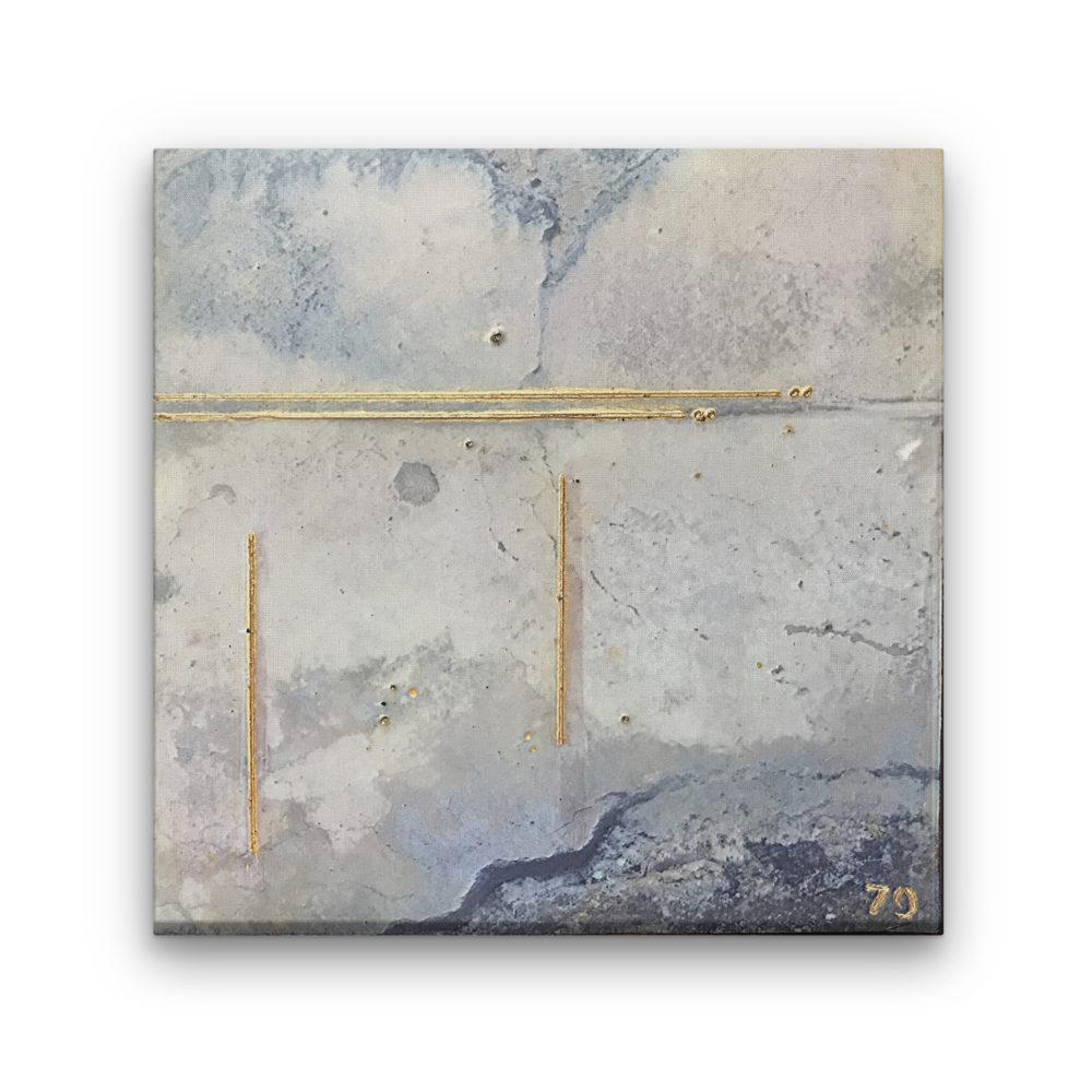 Pompeii II - Photo Encaustic Art