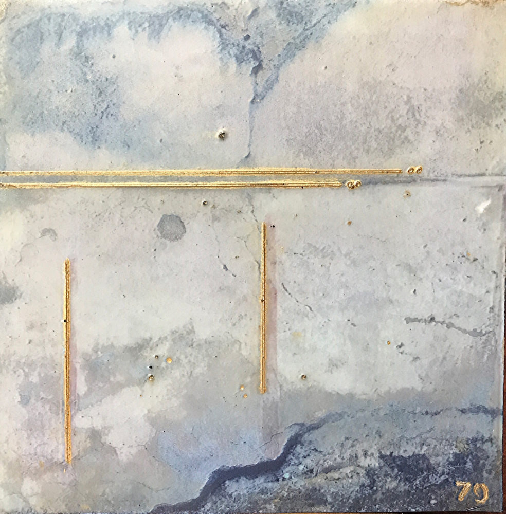Pompeii II - Photo Encaustic Art