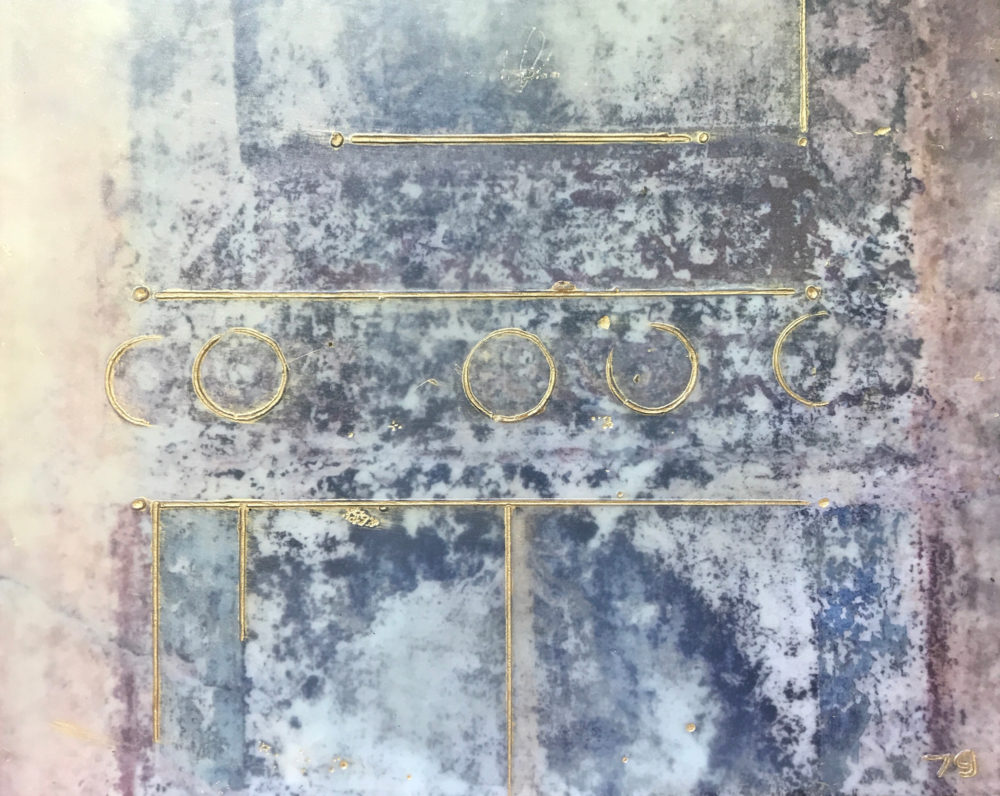 Pompeii XXII - Photo Encaustic Art