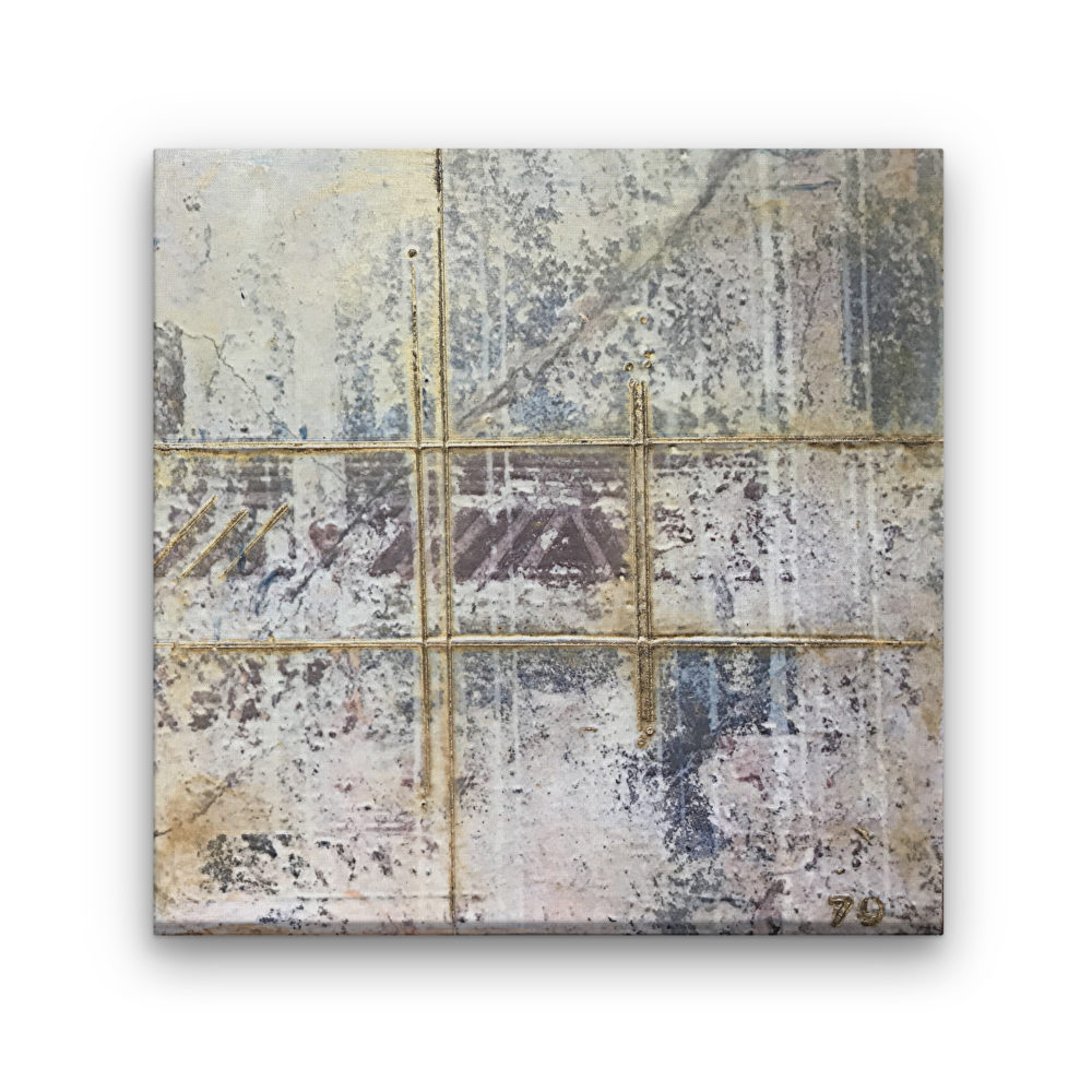 Pompeii III - Photo Encaustic Art