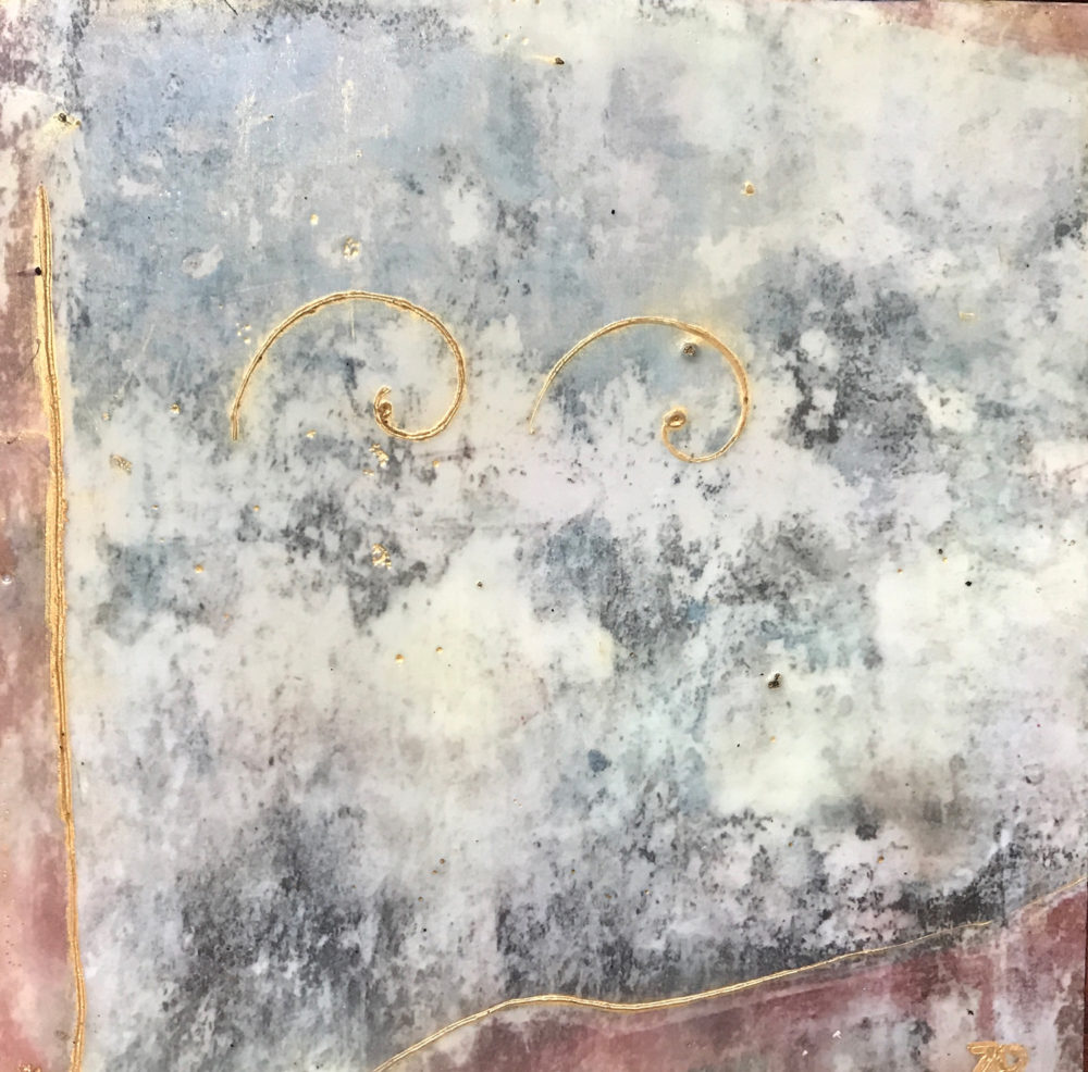 Pompeii IV Photo Encaustic Art