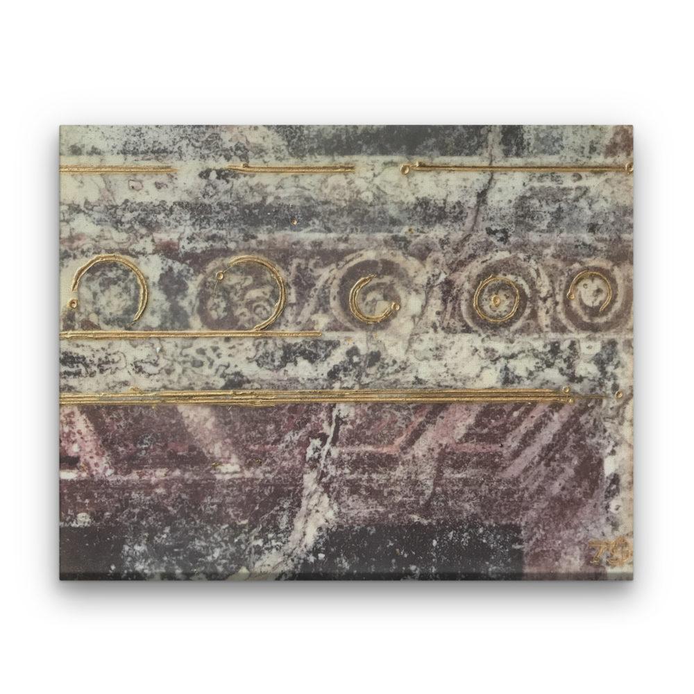 Pompeii VI Photo Encaustic Art