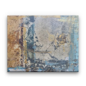Pompeii XXX Photo Encaustic Oil Painting