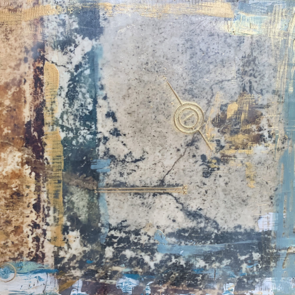 Pompeii XXXI Photo Encaustic Artwork
